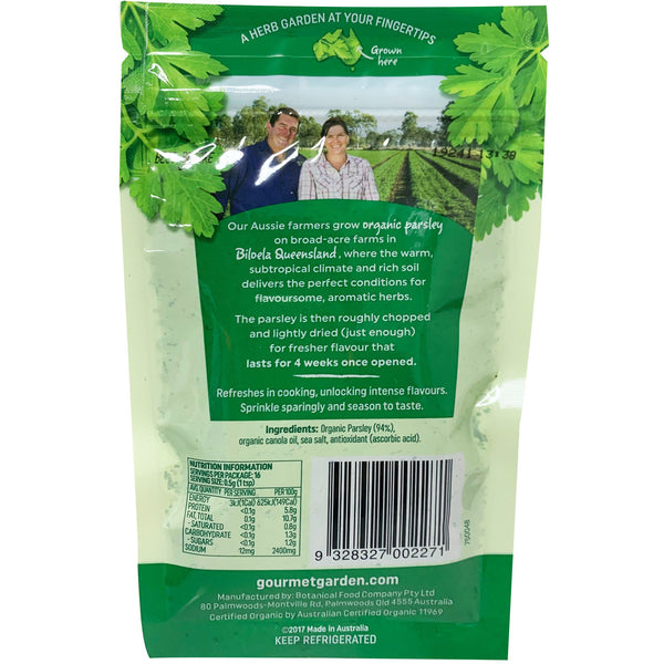 Gourmet Garden - Organic Parsley - Lightly Dried (8g)