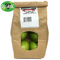 Apples Granny Smith Organic (500g prepack)