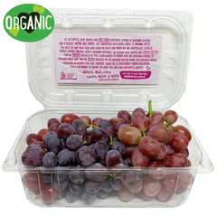 Grapes Red Seedless Organic (500g punnet)