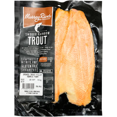 Murray River Smokehouse Smoked Rainbow Trout Fillets | Harris Farm Online