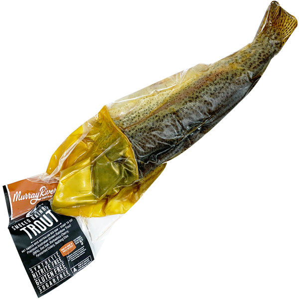Murray River Smokehouse Smoked Whole Rainbow Trout | Harris Farm Online