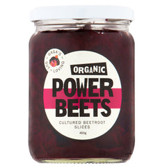 GaGa's Organic Power Beets Cultured Beetroot Slices | Harris Farm Online