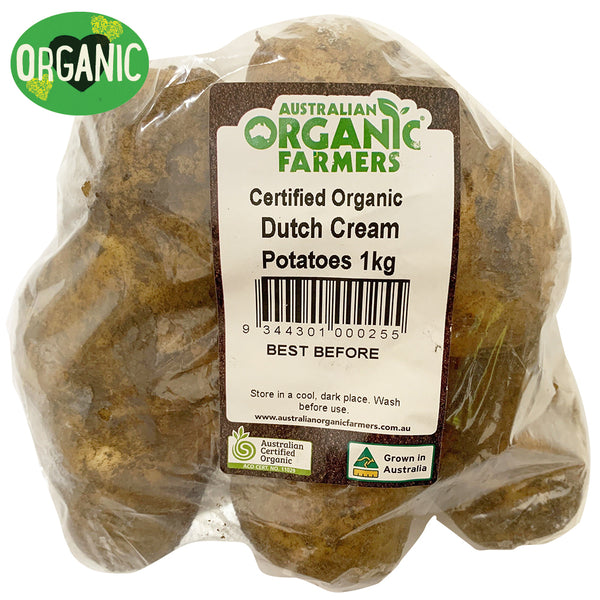 Potatoes - Dutch Cream - Organic (min 800g)