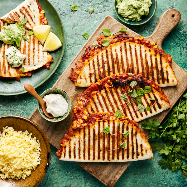 buy Chicken Quesadillas meal kits online from harris farm