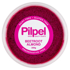 Pilpel Beetroot Almond Dip 200g , Frdg1-Antipasti - HFM, Harris Farm Markets  - 1