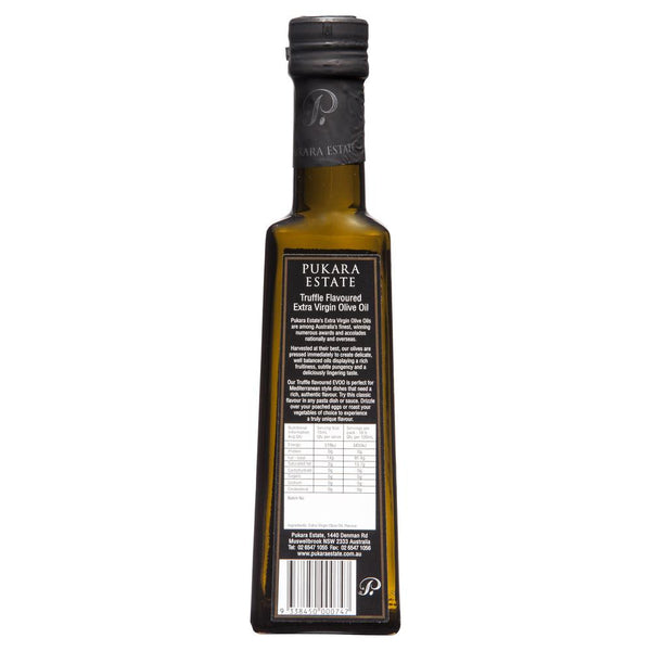 Pukara Truffle Extra Virgin Olive Oil 250ml , Grocery-Oils - HFM, Harris Farm Markets  - 2