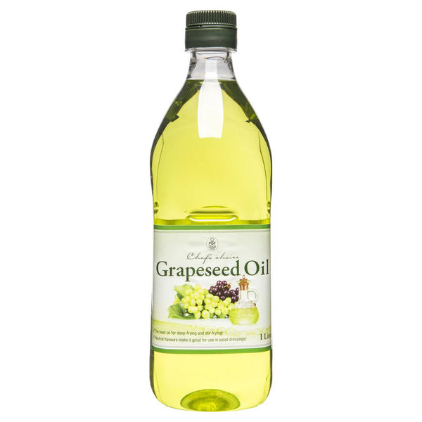 Pgf Chefs Choice Grapeseed Oil 1L , Grocery-Oils - HFM, Harris Farm Markets  - 1