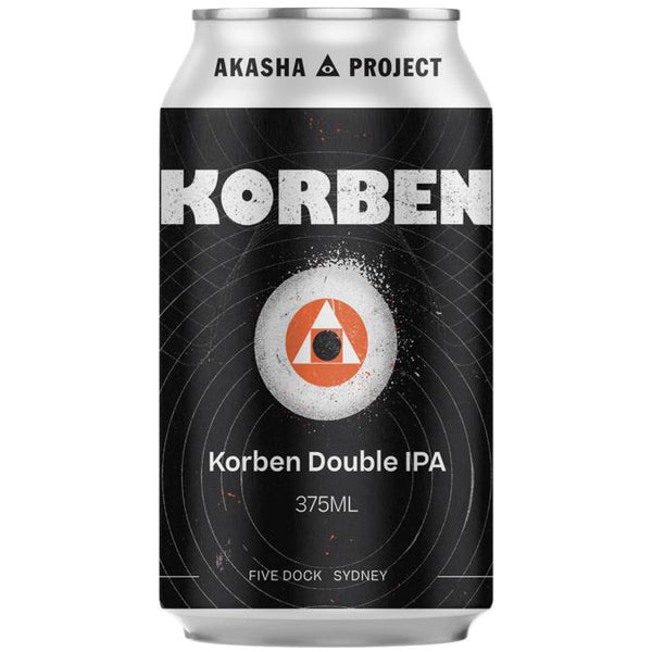 Akasha Brewing Company Korben Double IPA Case 24x375ml