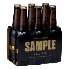 Sample Brew - Beer Gold Ale (6pk, 330mL)