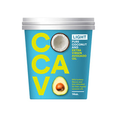 Cocavo - Coconut and Avocado Oil - Light (400g)