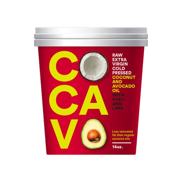Cocavo - Coconut and Avocado Oil - Chili and Lime (400g)