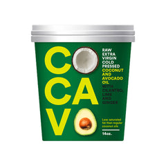 Cocavo - Coconut and Avocado Oil - Coriander Lime and Ginger (400g)