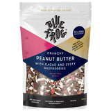 Blue Fog - Cereal Crunchy Peanut Butter - with Cacao and Zesty Raspberries (350g)