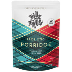 Blue Frog Probiotic Porridge Vanilla Bean and Chia Seed 440g