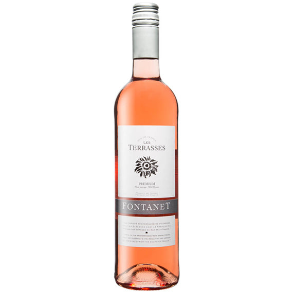 Fontanet - Rose - Les Terrasses - France (750mL)