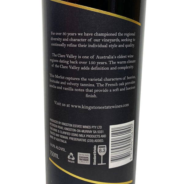 Kingston Estate - Merlot | Harris Farm Online