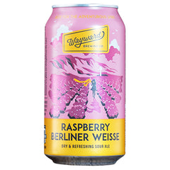 Wayward Brewing - Beer Raspberry Berliner Weisse (4pk, 375mL)