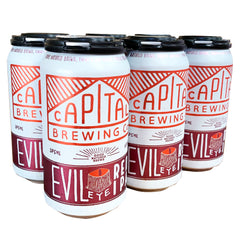 Capital Brewing - Beer Evil Eye Red IPA (6pk, 375mL)