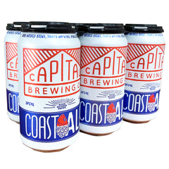 Capital Brewing - Beer Coast Ale (6pk, 375mL)
