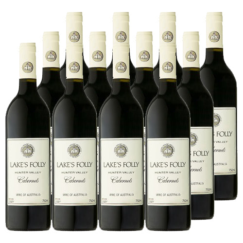 Lake's Folly - Cabernets 2018 - Hunter Valley, NSW (Case Sale, 12 bottles x 750mL)