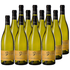 Domaine Fe'vre - Chardonnay 2018 - Chablis, France (Case sale, 12 bottles x 750mL)