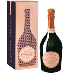 Laurent Perrier Cuve'e Rose' Champagne France Gift Tin | Harris Farm Online