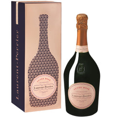 Laurent Perrier Cuve'e Rose' Champagne France Gift Tin Case 6x750ml