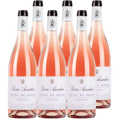 Pierre Amadieu Cotes du Rhone Rose France Case 6x750ml