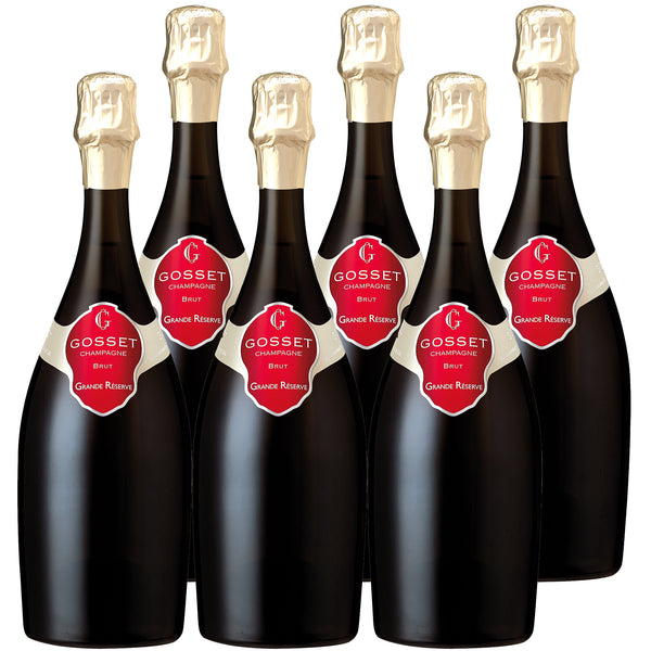 Gosset Champagne NV Grand Reserve Case | Harris Farm Online
