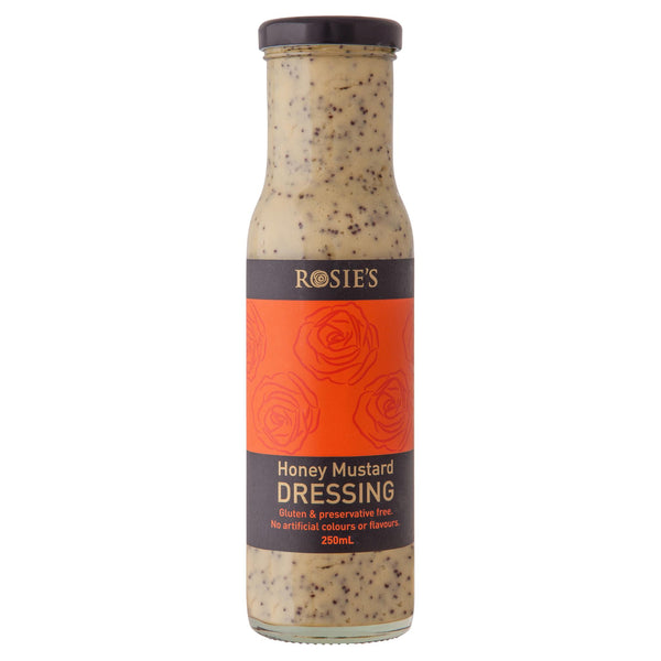 Rosie Dressing Hon Must 250ml , Grocery-Condiments - HFM, Harris Farm Markets  - 1