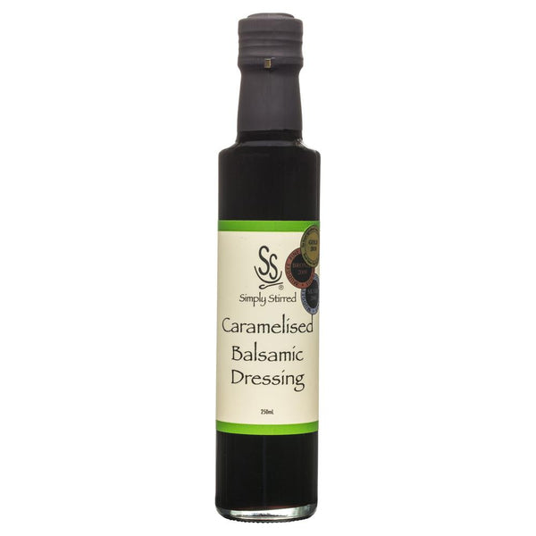 Simply Dressing Caramelised Balsamic Vinegar 250ml , Grocery-Oils - HFM, Harris Farm Markets  - 1