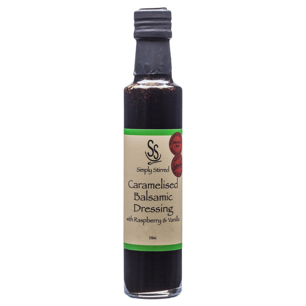 Simply Dressing Caramelised Balsamic Vinegar Rasp Van 250ml , Grocery-Oils - HFM, Harris Farm Markets  - 1