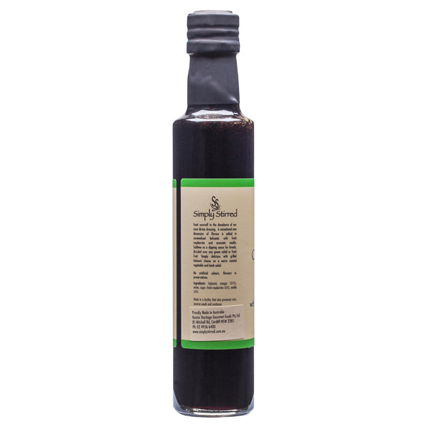 Simply Dressing Caramelised Balsamic Vinegar Rasp Van 250ml , Grocery-Oils - HFM, Harris Farm Markets  - 3