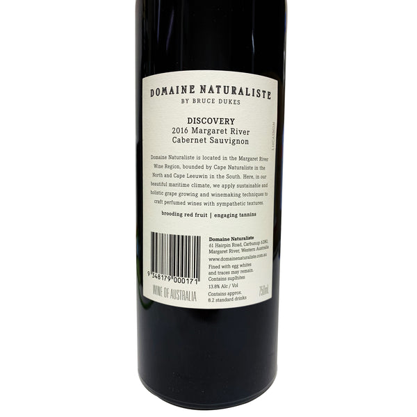 Domaine Naturaliste - Discovery Cabernet Sauvignon - Margaret River, WA (Case Sale, 12 bottles x 750mL)
