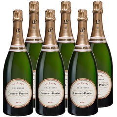Laurent Perrier  - La Cuve'e Champagne - Brut - France (CASE SALE, 6 bottles x 750mL)