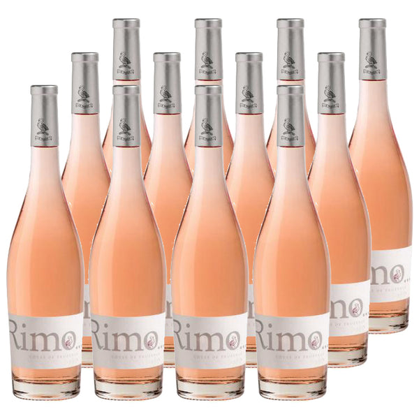 Rimauresq Rimo - Petit Rose 2017 - Provence, France (Case Sale, 12 bottles x 750mL)