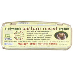 Mulloon Creek Biodynamic Pasture Raised Organic King Eggs | Harris Farm Online