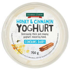 Harris Farm - Yoghurt Honey & Cinnamon (700g)