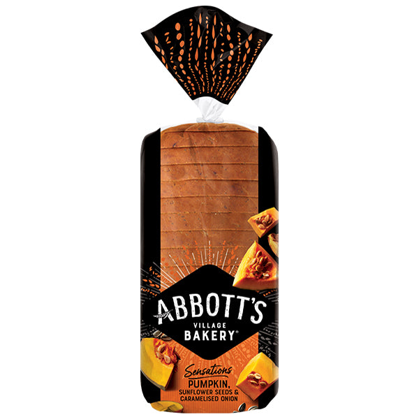 Abbotts Bakery - Bread Pumpkin, Sunflower Seeds & Caramelised Onion (750g)