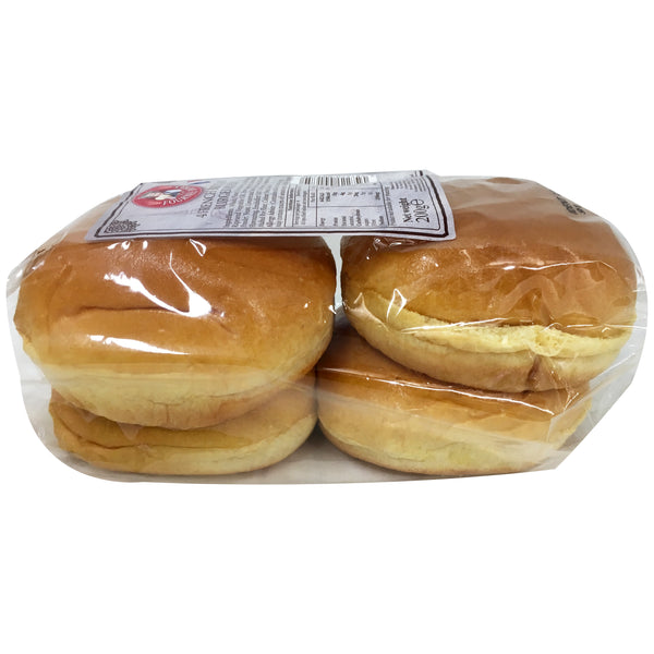 La Fournee Doree - Bread 4 French Brioche - Burger Rolls (4 Rolls, 200g)