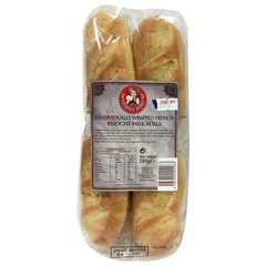 La Fournee Doree - Bread French Brioche - Milk Rolls (8 Rolls, 280g)