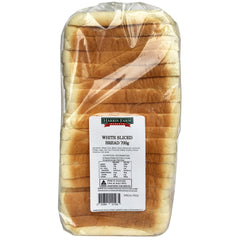 Harris Farm - Bread Sliced - White (700g)