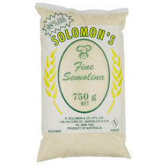 Solomon Semolina Fine 750g , Grocery-Grains - HFM, Harris Farm Markets  - 1