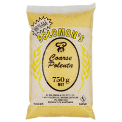 Solomon Polenta Coarse 750g , Grocery-Grains - HFM, Harris Farm Markets  - 1
