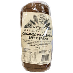 Naturis - Bread Organic - Wholemeal Spelt Loaf (680g)