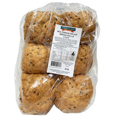 Harris Farm - Bread Rolls - Multigrain Salad (6pk)