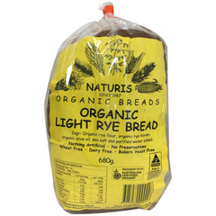 Naturis Organic Breads Light Rye Bread 680g