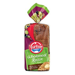 Tip Top - Bread Raisin Toast - Wholemeal (600g)