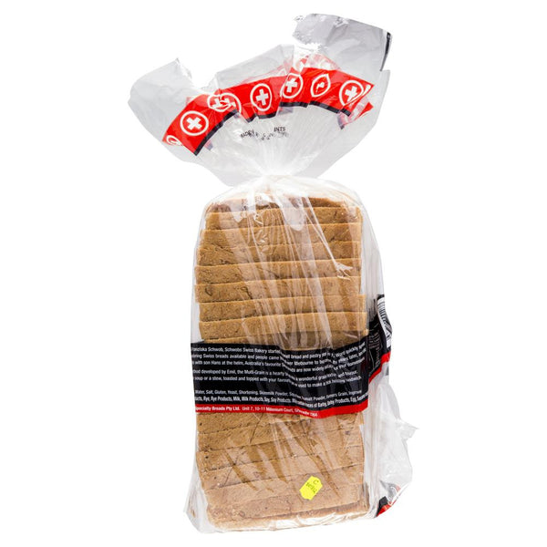 Schwobs Multi Grain Bread 900g , Z-Bakery - HFM, Harris Farm Markets  - 2