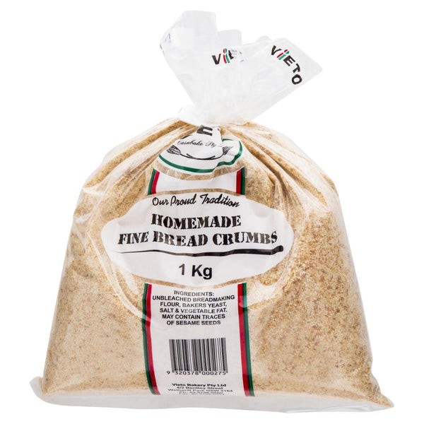 Vieto Bakery Homemade Fine Bread Crumbs 1kg , Z-Bakery - HFM, Harris Farm Markets  - 1